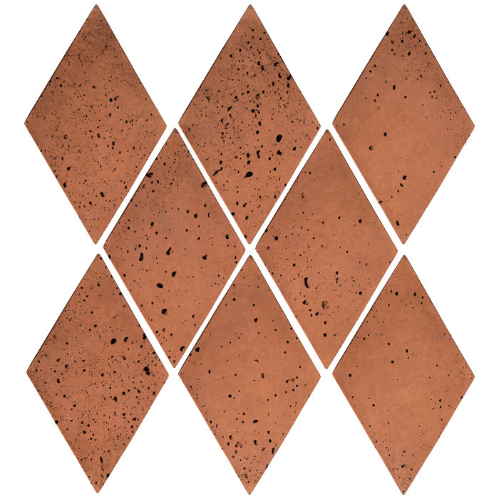 3x5 Mini Diamond Desert Travertine
