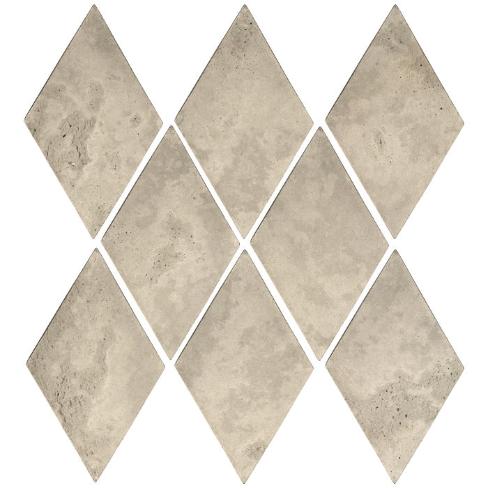 3x5 Mini Diamond Early Gray Limestone