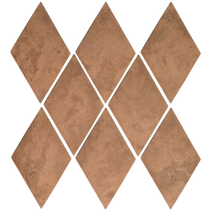 3x5 Mini Diamond Flagstone Limestone