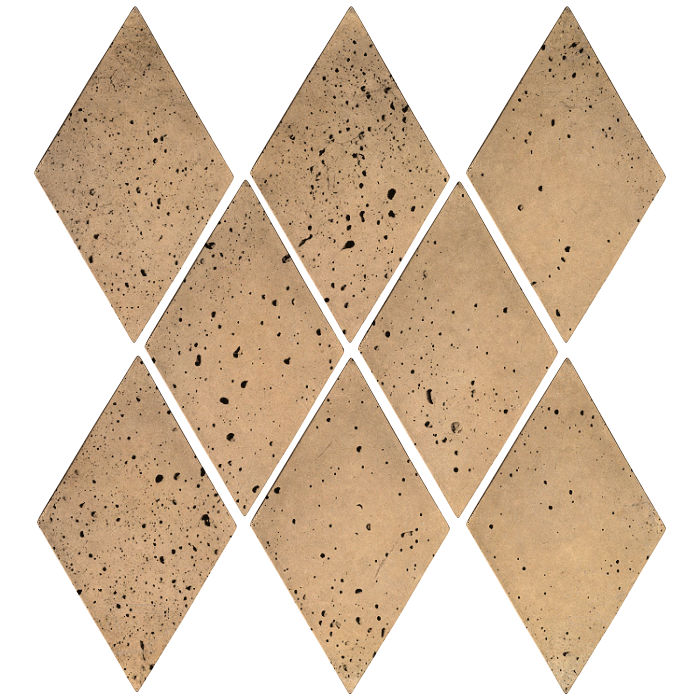 3x5 Mini Diamond Old California Travertine