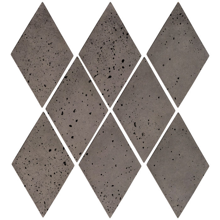 3x5 Mini Diamond Smoke Travertine