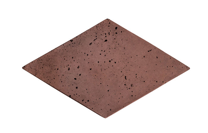 8x13 Diamond City Hall Red Travertine