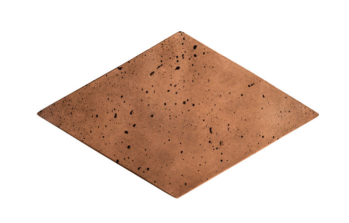 8x13 Diamond Cotto Dark Travertine