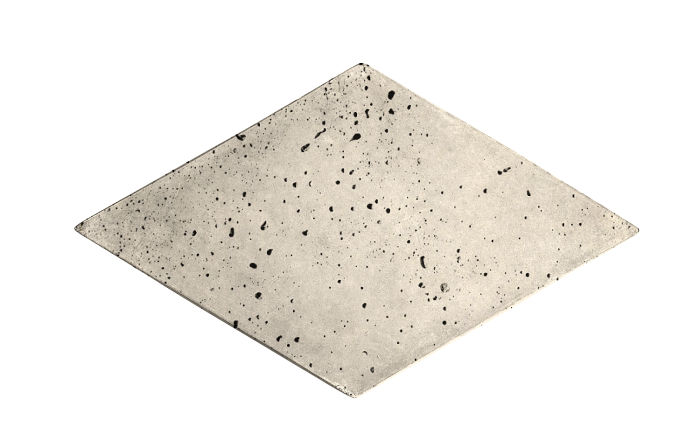 8x13 Diamond Rice Travertine