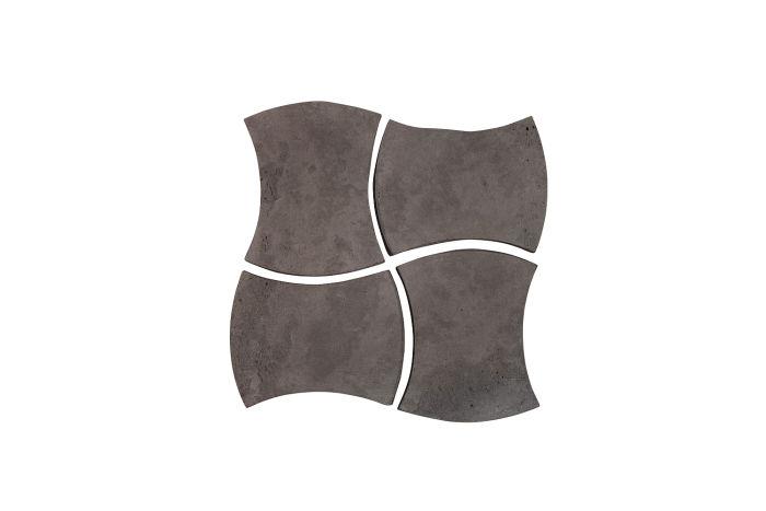 3x4 Mini Durango Charcoal Limestone