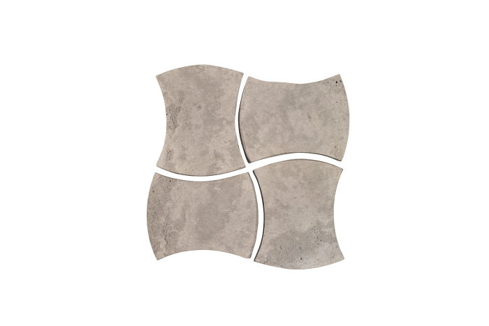 3x4 Mini Durango Natural Gray Limestone