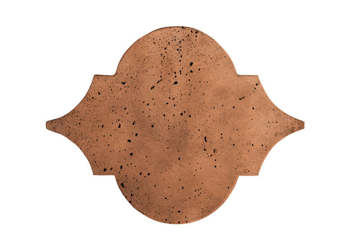 8x10 Eye of Felipe Cotto Dark Travertine