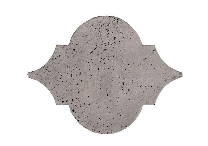 8x10 Eye of Felipe Sidewalk Gray Travertine