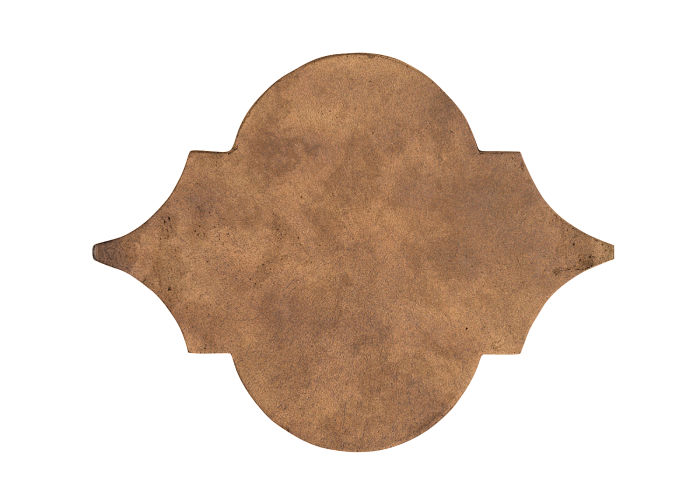 8x10 Eye of Felipe Tuscan Mustard Limestone