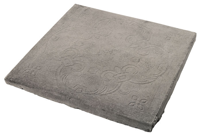 12x12 Fiesta Deco Natural Gray
