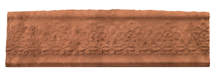 3x12 Flower Liner Cotto Gold Limestone