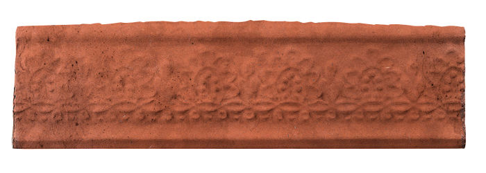 3x12 Flower Liner Mission Red Limestone