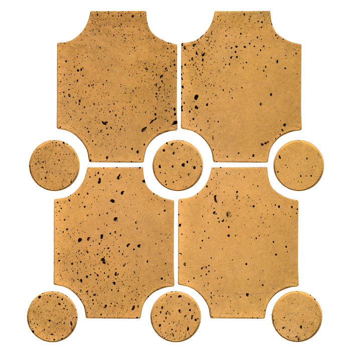 Granada Set Buff Travertine