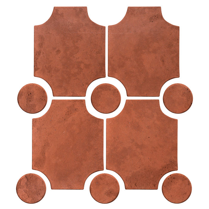 Granada Set Mission Red Limestone