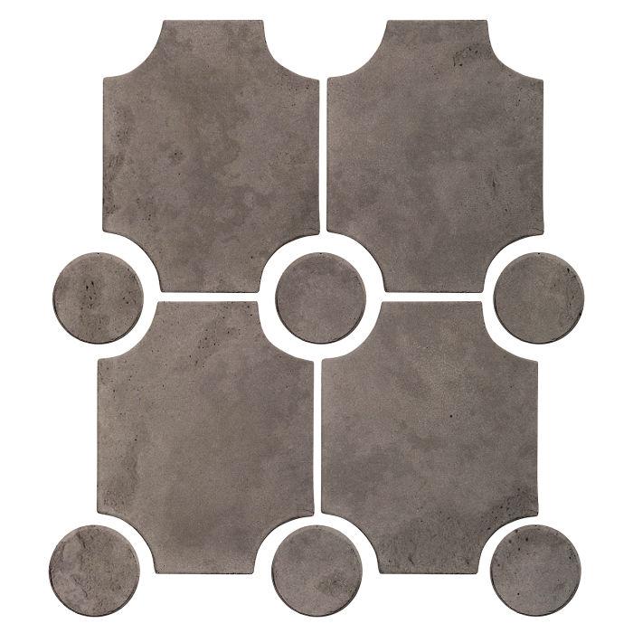 Granada Set Smoke Limestone