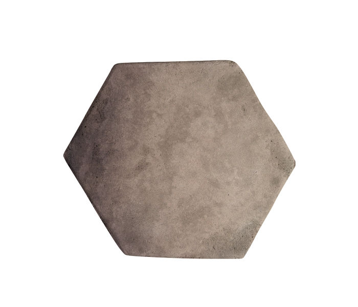 6x6 Artillo Hexagon Antik Gray Limestone