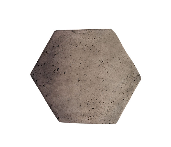 6x6 Artillo Hexagon Antik Gray Luna