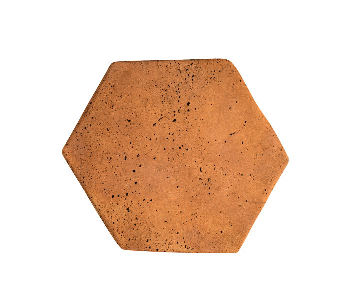 6x6 Artillo Hexagon Artillo Cafe Travertine