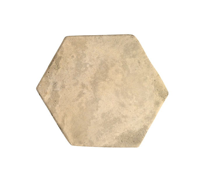 6x6 Artillo Hexagon Bone Limestone