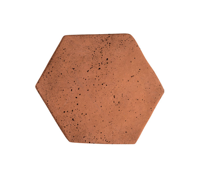 6x6 Artillo Hexagon Desert Travertine