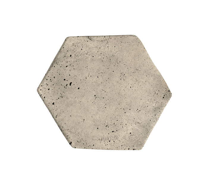 6x6 Artillo Hexagon Early Gray Luna