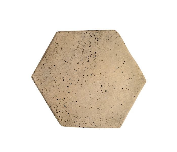 6x6 Artillo Hexagon Hacienda Travertine