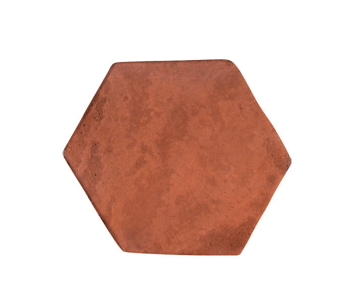6x6 Artillo Hexagon Mission Red Limestone