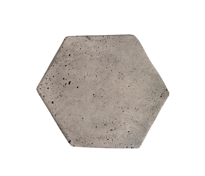 6x6 Artillo Hexagon Natural Gray Luna
