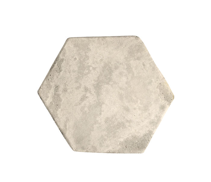 6x6 Artillo Hexagon Rice Limestone