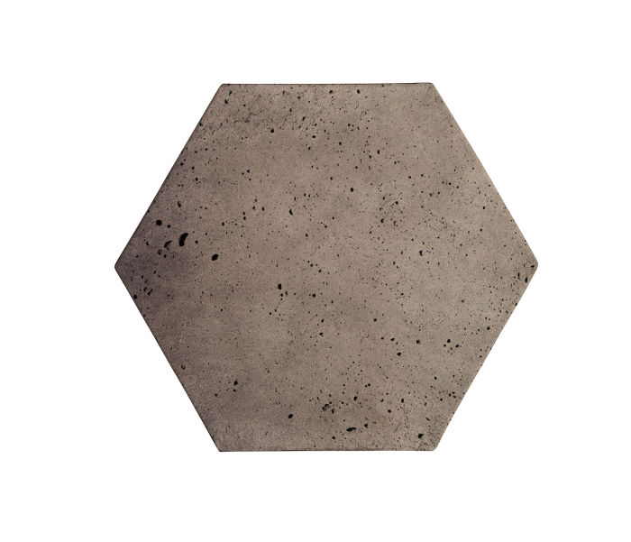8x8 Artillo Hexagon Antik Gray Luna