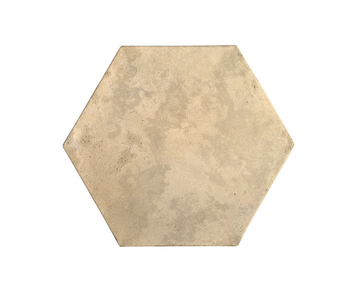 8x8 Artillo Hexagon Bone Limestone