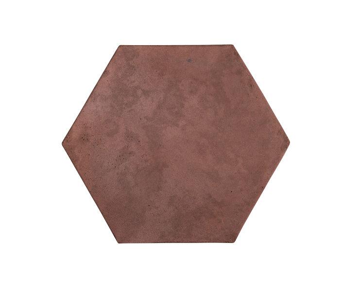 8x8 Artillo Hexagon City Hall Red Limestone