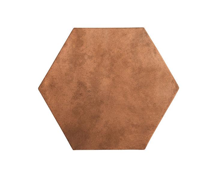 8x8 Artillo Hexagon Cotto Dark Limestone