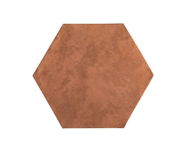 8x8 Artillo Hexagon Cotto Gold Limestone