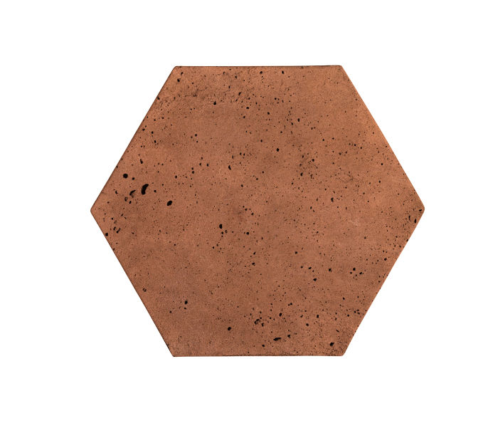 8x8 Artillo Hexagon Cotto Gold Luna