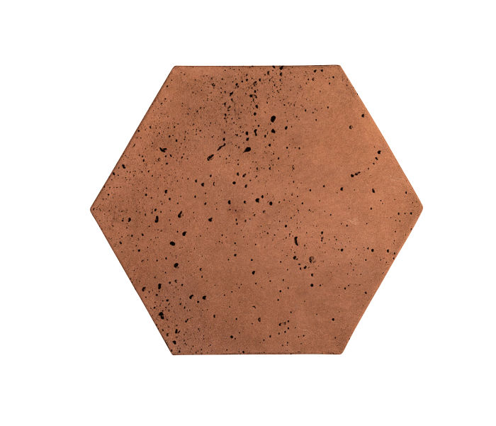 8x8 Artillo Hexagon Cotto Gold Travertine