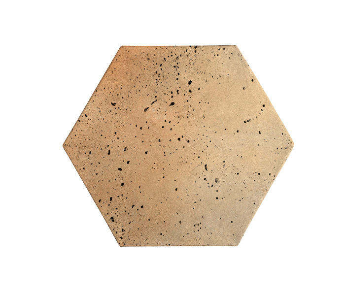 8x8 Artillo Hexagon Hacienda Flash Travertine