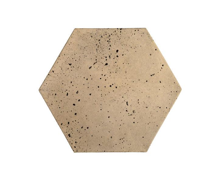 8x8 Artillo Hexagon Hacienda Travertine