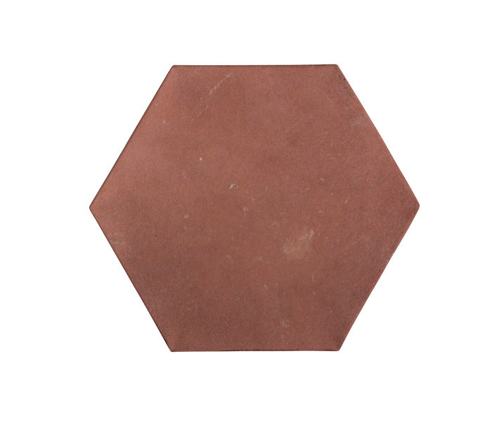 8x8 Artillo Hexagon Spanish Inn Red