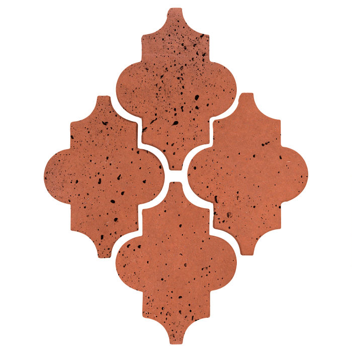 8x11 Artillo Modern Felipe Mission Red Travertine