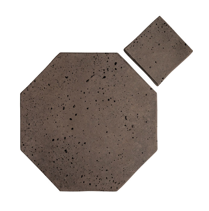 10x10 Artillo Octagon Set Charley Brown Travertine
