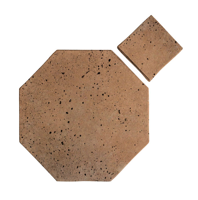 10x10 Artillo Octagon Set Gold Travertine
