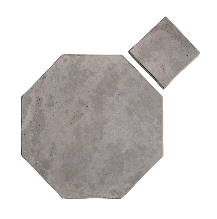 10x10 Artillo Octagon Set Sidewalk Gray Limestone