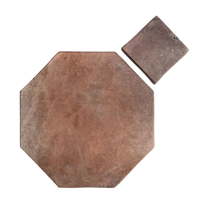 12x12 Artillo Octagon Set Beachwood Flash Limestone