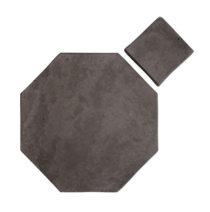 12x12 Artillo Octagon Set Charcoal Limestone