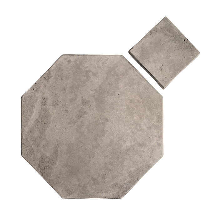 12x12 Artillo Octagon Set Natural Gray Limestone