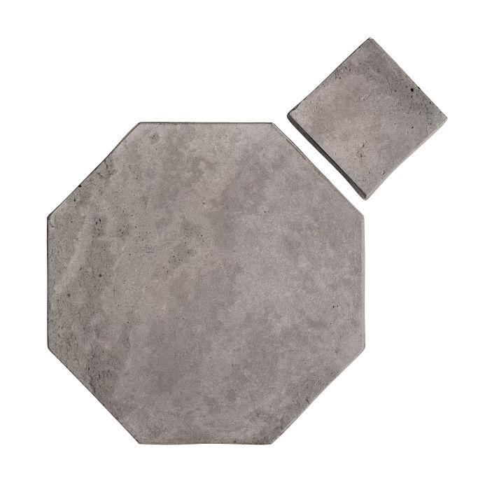 12x12 Artillo Octagon Set Sidewalk Gray Limestone