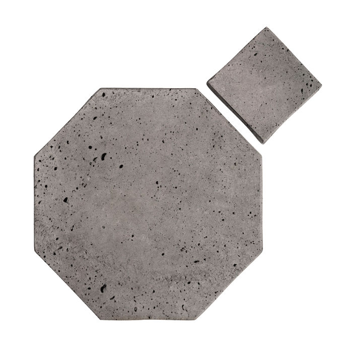 12x12 Artillo Octagon Set Sidewalk Gray Luna