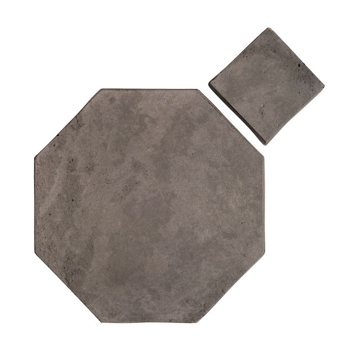 12x12 Artillo Octagon Set Smoke Limestone