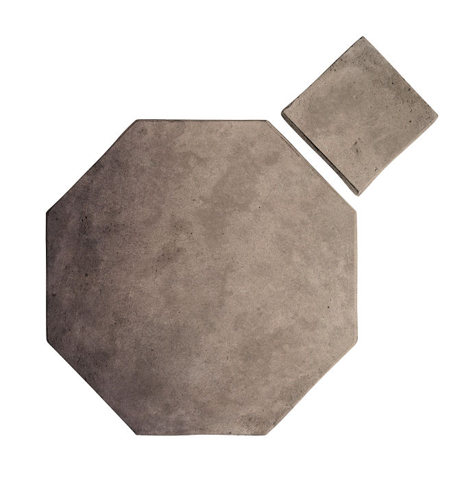 8x8 Artillo Octagon Set Antik Gray Limestone
